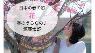 日本の春の歌-花-滝廉太郎-ミニハープ-やまばたまい