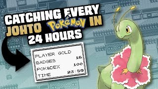 HOW EASILY CAN YOU CATCH EVERY POKEMON IN GOLD/SILVER/CRYSTAL?