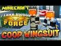 FANTA ET BOB COOP EN WINGSUIT !!! - Map Minecraft Terra Swoop Force