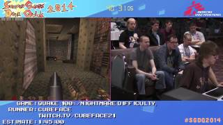 Summer Games Done Quick 2014 - Part 138 - Quake