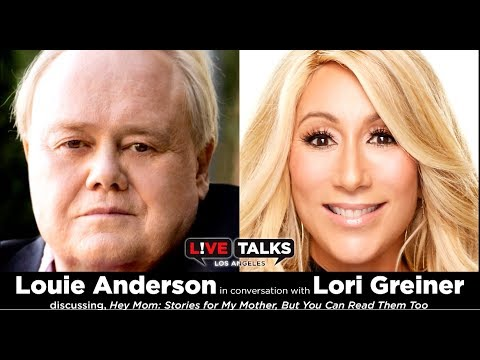 Louie Anderson in conversation with Lori Greiner at Live Talks Los Angeles