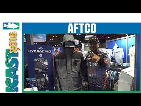 ICAST Best In Show Technical Apparel - Aftco Hydronaut Jacket & Bib Rain Gear | ICast 2018