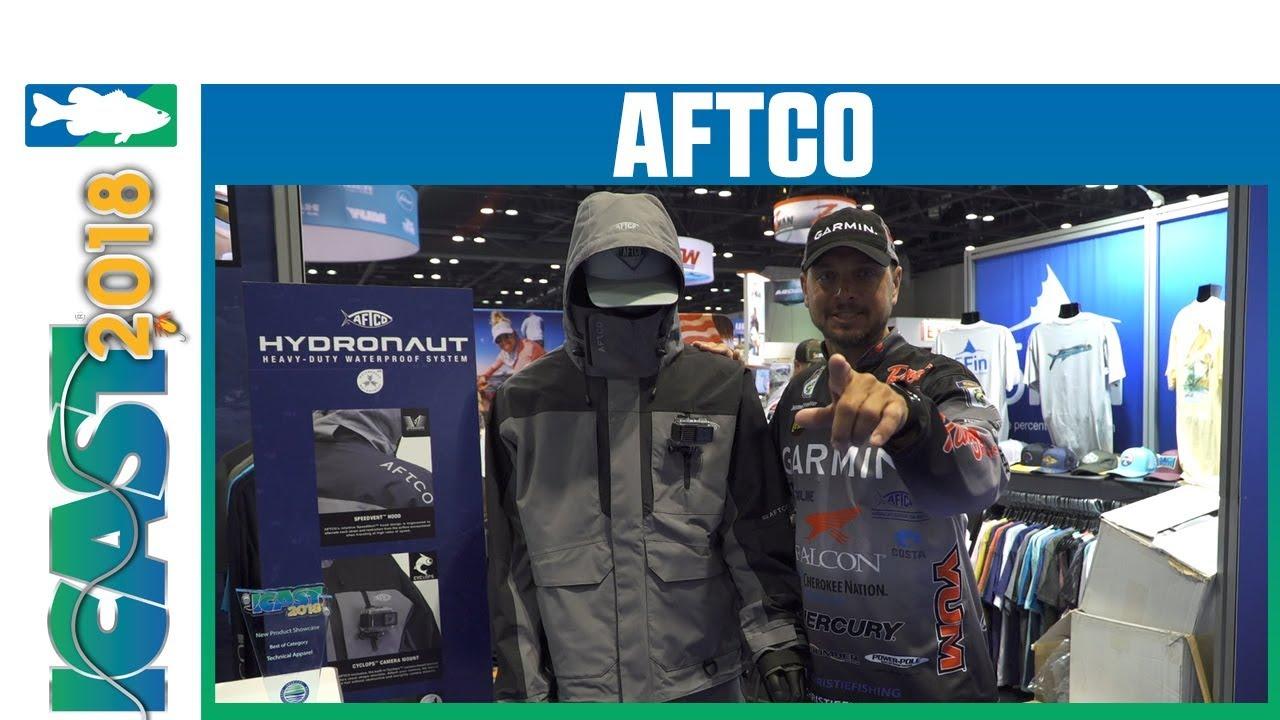 Icast 2018 Videos Aftco Hydronaut Jacket Bib Rain Gear With Christie