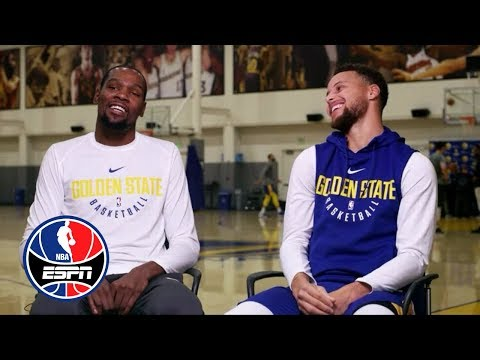 Kevin Durant and Steph Curry exclusive  with Rachel Nichols  NBA Countdown  ESPN