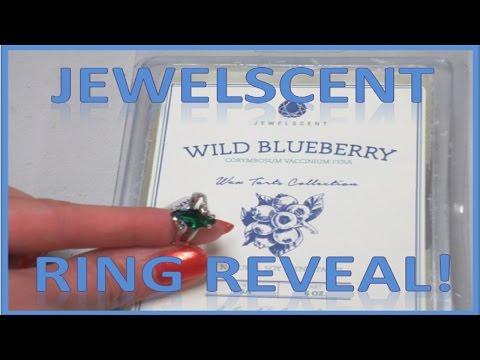 JewelScent Ring Reveal - Wild Blueberry Wax Tart