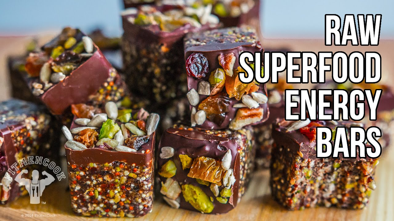 Raw superfood energy bars barras energ ticas con s per for Superfood bar