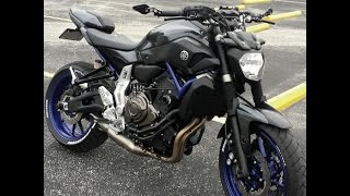 fz 07 mt 07 review 2 plus new mods update with akrapovic exhaust sound yamaha sport bike