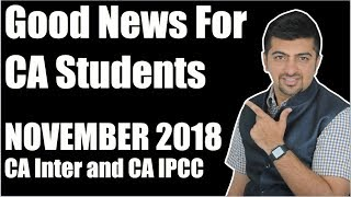 good news for ca students november 2018 eis and free courses