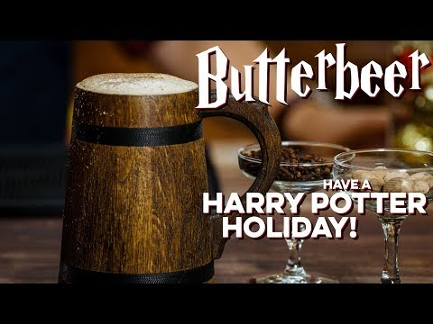 The Woody Show - How to Make REAL Butterbeer