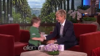 Five-Year-Old Planet Expert Marshall Kimber Is Back on Ellen show