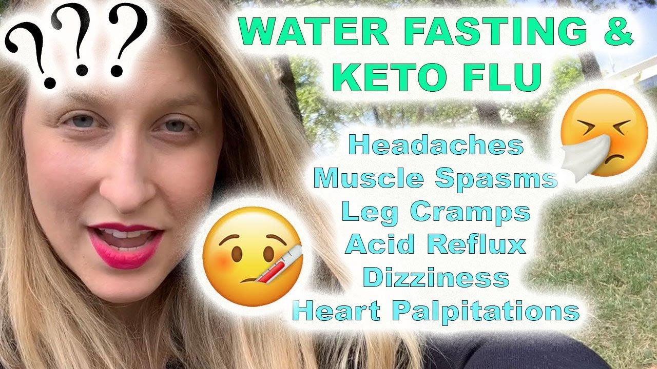 Water Fasting: You're not getting sick! Keto Flu + Acid Reflux + Headaches + Sugar Withdrawal