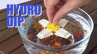 LEGO Fidget Spinner Hydro Dip - Super EASY Hydro Dipping