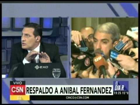 C5N - Eleccion 2015: Dominguez y Espinoza sobre las acusaciones a Anibal