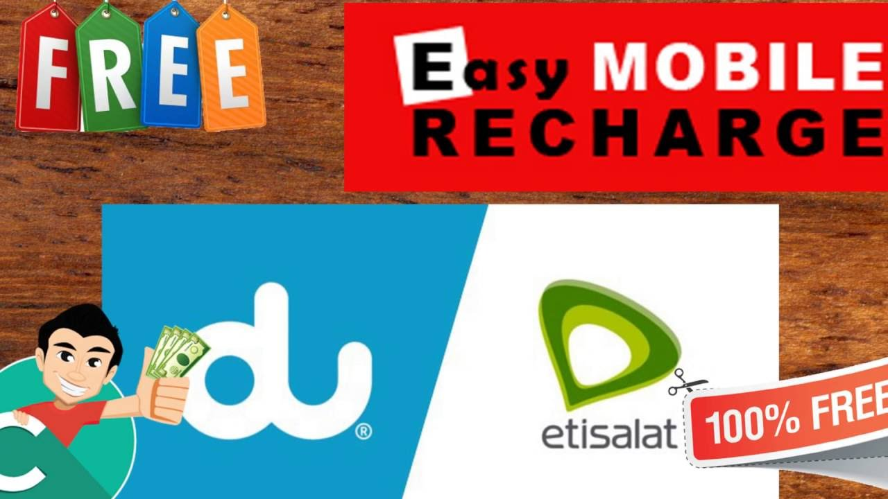 Mettsalat How To Get Free Mobile Recharge In Uae Etisalat And Du