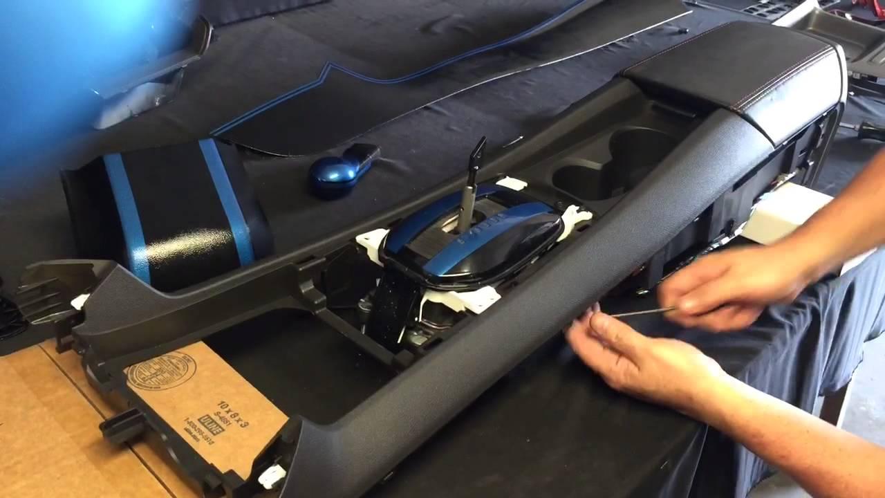 medium resolution of remove camaro center console part 1