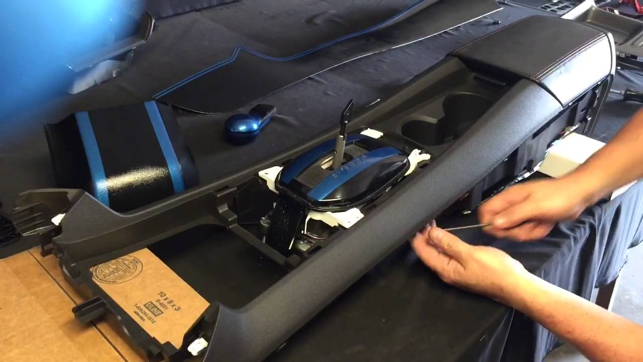hight resolution of remove camaro center console part 1