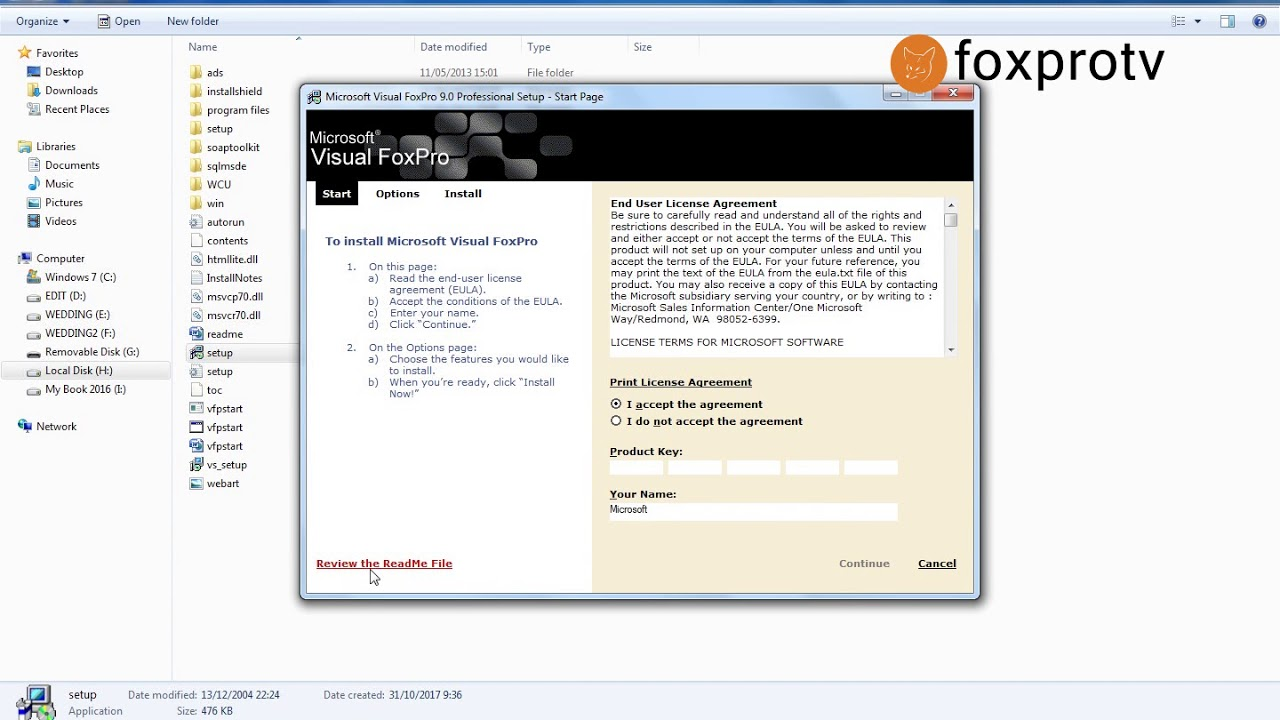 Foxpro software download windows 7.