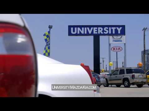 University Mazda Kia - YouTube