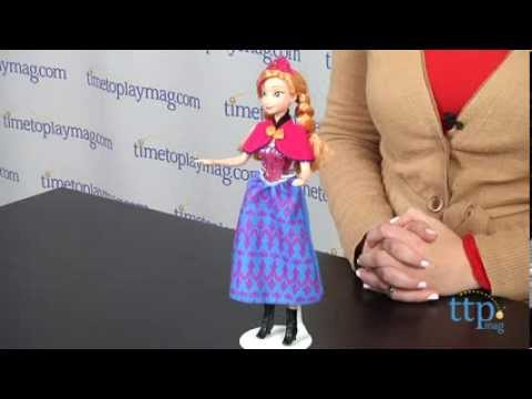 Disney Frozen Musical Magic Anna from Mattel