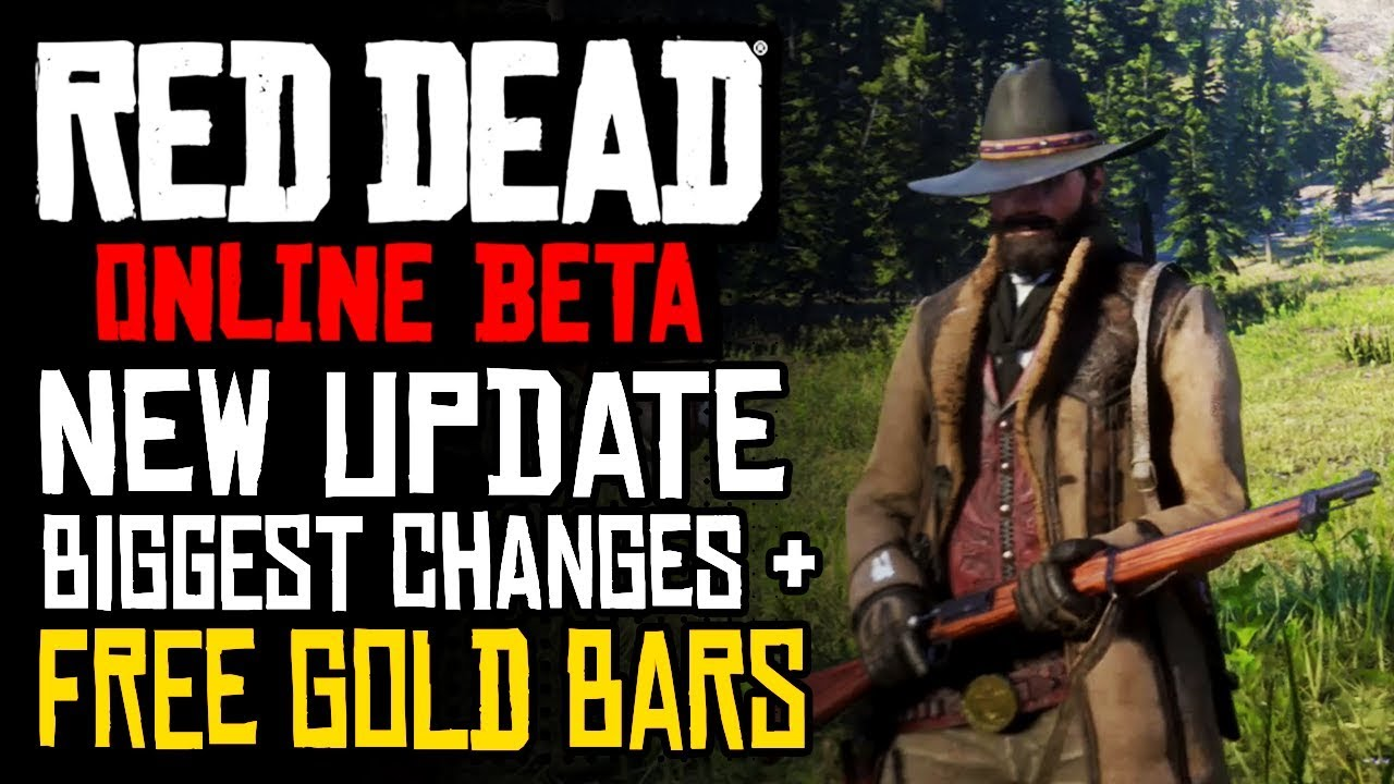 RED DEAD ONLINE - WEEK 1 UPDATE: Huge Changes to Economy, Better Payouts, NERFS & FREE GOLD BARS