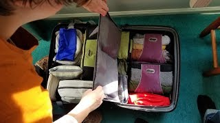 Expert Packing Tips #3 - Arranging Packing Cubes