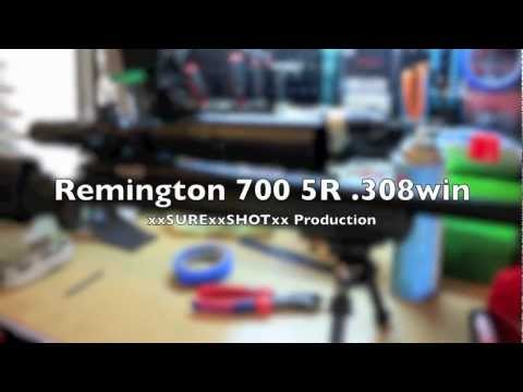 Remington 700 mil-spec 5R .308 win Detailed