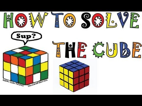 How to Solve a Rubik's Cube EASY! 5 Step Method. 30 Minutes. You'll Get It!