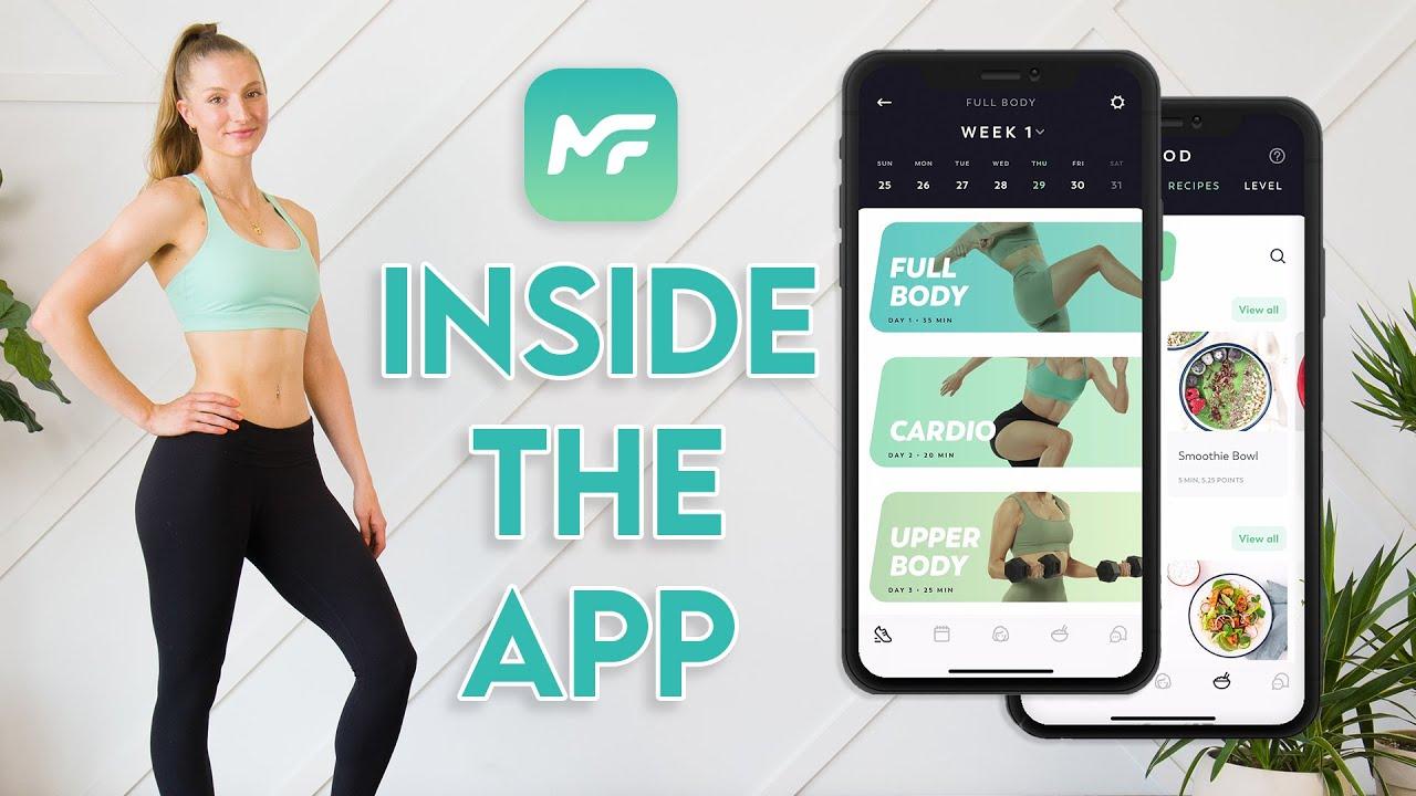 The MadFit App WALKTHROUGH TUTORIAL (Inside The App)