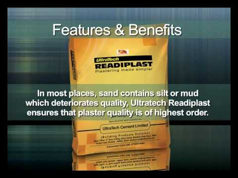 Ultratech Readiplast Wall Plaster Youtube