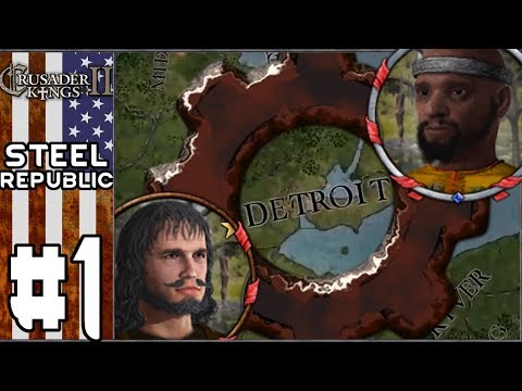 CK2 After the End: Steel Republic #1 - Liberators of Detroit (Series B)
