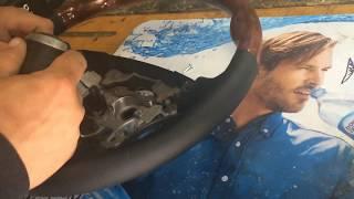 Снятие и установка руля Toyota Land Cruiser Prado 120