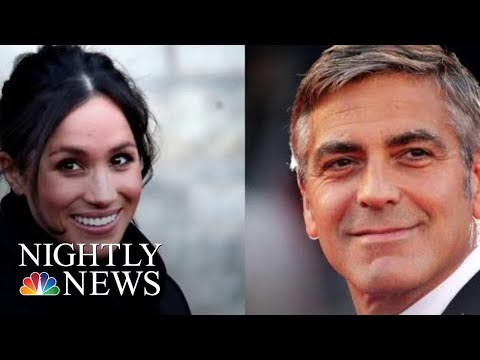 George Clooney Criticizes Media In Defense Of Meghan Markle | NBC Nightly News