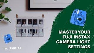 Mastering Your Fuji Instax 9 Polaroid Light Settings   irlrubyph