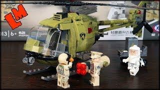 Военный лего-вертолет