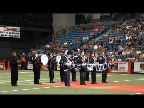 Augusta KS HS Winning Drumline Performance