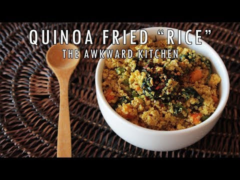 Veggie Quinoa Fried Grain