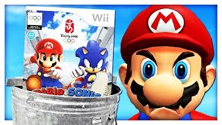 The Mario & Sonic games were a MISTAKE!
