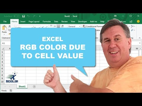 Learn excel from mrexcel rgb color based on cell value learn excel from mrexcel rgb color based on cell value podcast 1633 youtube ccuart Images