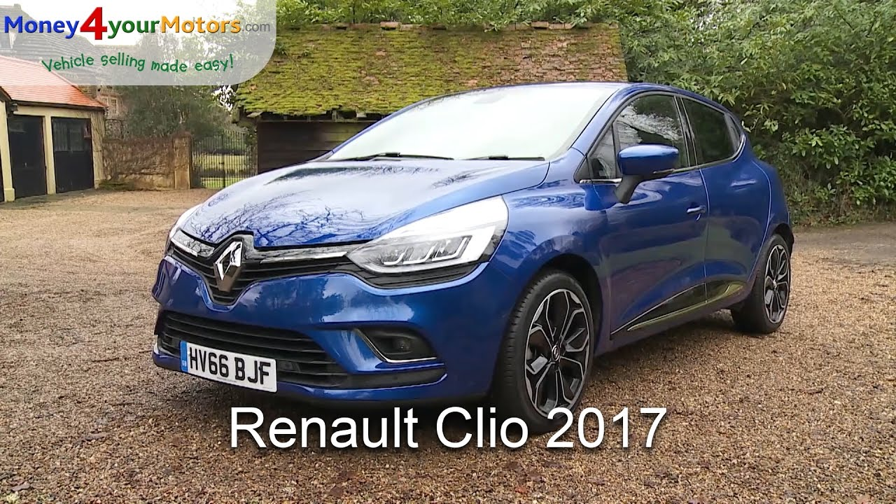 renault clio 2017 review youtube. Black Bedroom Furniture Sets. Home Design Ideas