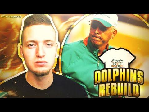 REBUILDING THE 2007 MIAMI DOLPHINS!! Madden NFL Retro Rebuild