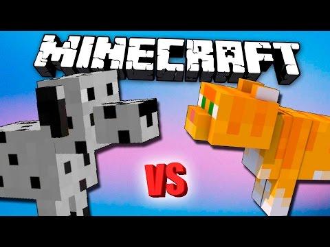 Кошки против Собак в Майнкрафте - FarmFrenzy