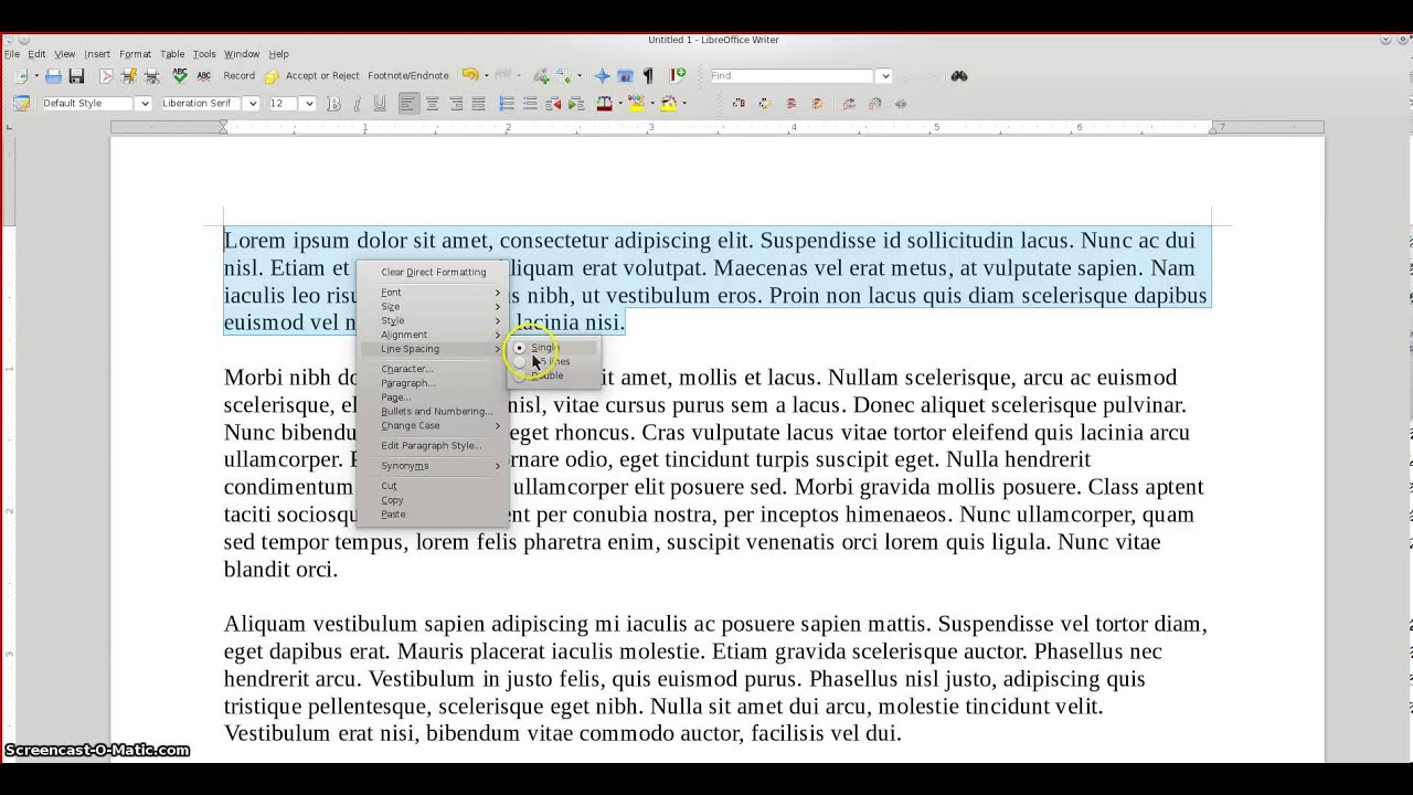 college essay line spacing Using microsoft word with your cursor at the area you want indented, click on page layout, go over to spacing and click on the tiny down arrow--not the up.