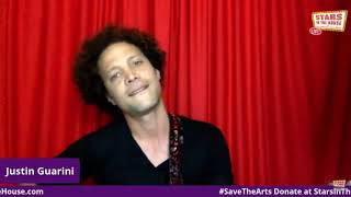 Justin Guarini sings on #StarsInTheHouse