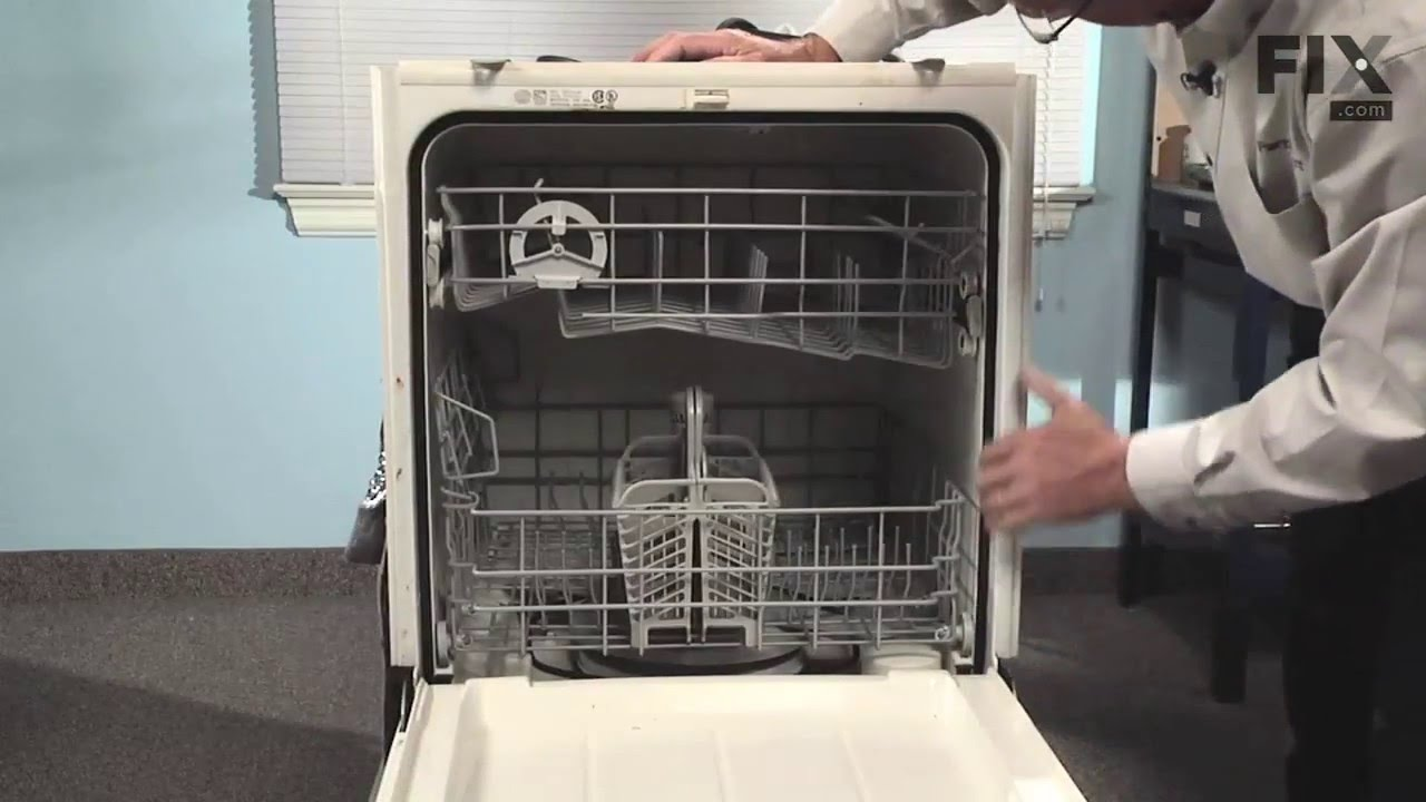Maytag Dishwasher Repair How To Replace The Door Gasket Youtube
