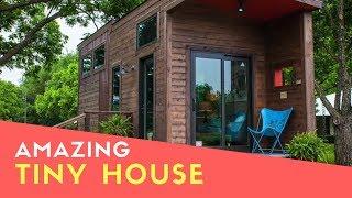 Most Popular Incredible Tiny House Single Loft From Texzen Tiny House