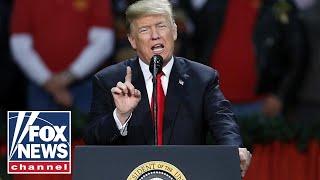Trump hosts \'MAGA\' rally with Rep. DeSantis in Tampa, FL