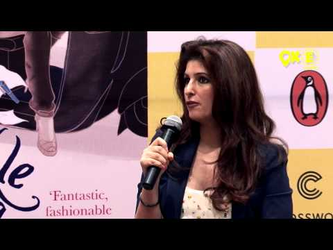 Twinkle Khanna in conversation with Pritish Nandy for her debut book 'Mrs Funnybones