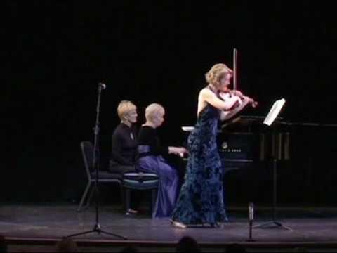 Elizabeth Pitcairn in Sarasota Recital