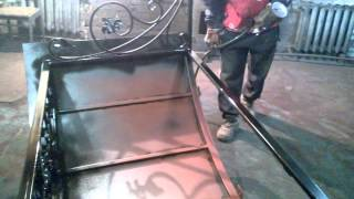 видео Производство металлических заборов, козырьков и навесов в Самаре