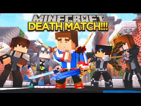 LITTLE DONNY IS IN A DEATH MATCH!!! - Minecraft - Little Donny Adventures.